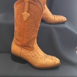 Shoes - Unisex Trinity River Alligator Boots